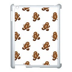 Gingerbread Seamless Pattern Apple Ipad 3/4 Case (white) by Nexatart
