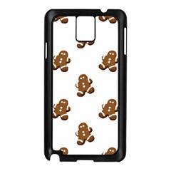Gingerbread Seamless Pattern Samsung Galaxy Note 3 N9005 Case (black) by Nexatart