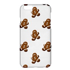 Gingerbread Seamless Pattern Apple Iphone 6 Plus/6s Plus Hardshell Case by Nexatart
