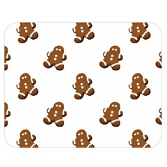 Gingerbread Seamless Pattern Double Sided Flano Blanket (medium)  by Nexatart