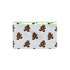 Gingerbread Seamless Pattern Cosmetic Bag (xs) by Nexatart