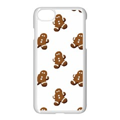 Gingerbread Seamless Pattern Apple Iphone 7 Seamless Case (white)