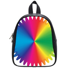 Rainbow Seal Re Imagined School Bags (small)