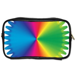 Rainbow Seal Re Imagined Toiletries Bags 2-Side