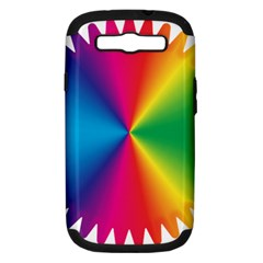 Rainbow Seal Re Imagined Samsung Galaxy S Iii Hardshell Case (pc+silicone)