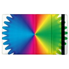 Rainbow Seal Re Imagined Apple Ipad 2 Flip Case by Nexatart