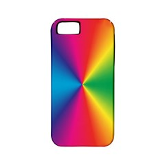 Rainbow Seal Re Imagined Apple Iphone 5 Classic Hardshell Case (pc+silicone)