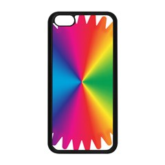 Rainbow Seal Re Imagined Apple Iphone 5c Seamless Case (black) by Nexatart