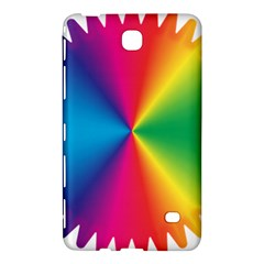 Rainbow Seal Re Imagined Samsung Galaxy Tab 4 (7 ) Hardshell Case