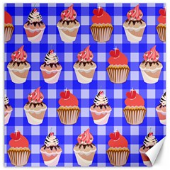 Cake Pattern Canvas 12  X 12