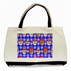 Cake Pattern Basic Tote Bag (two Sides) by Nexatart