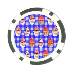 Cake Pattern Poker Chip Card Guard (10 Pack)