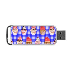 Cake Pattern Portable Usb Flash (one Side) by Nexatart