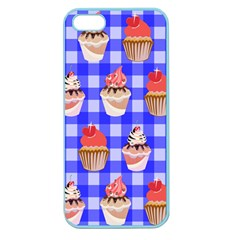 Cake Pattern Apple Seamless Iphone 5 Case (color) by Nexatart