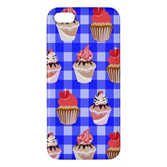 Cake Pattern Apple Iphone 5 Premium Hardshell Case by Nexatart
