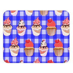 Cake Pattern Double Sided Flano Blanket (large)  by Nexatart