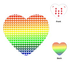 Rainbow Love Playing Cards (heart)