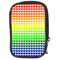 Rainbow Love Compact Camera Cases by Nexatart