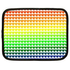 Rainbow Love Netbook Case (xxl)