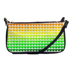 Rainbow Love Shoulder Clutch Bags