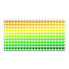 Rainbow Love Satin Wrap by Nexatart
