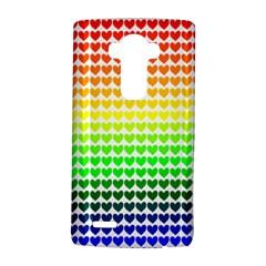 Rainbow Love Lg G4 Hardshell Case by Nexatart