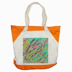 Crayon Texture Accent Tote Bag