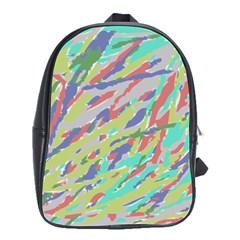 Crayon Texture School Bags(large)