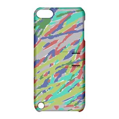 Crayon Texture Apple Ipod Touch 5 Hardshell Case With Stand
