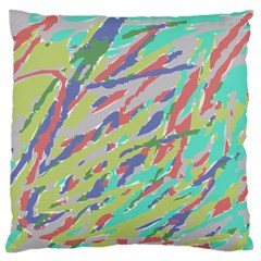 Crayon Texture Standard Flano Cushion Case (one Side) by Nexatart