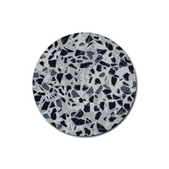Textures From Beijing Rubber Round Coaster (4 Pack)  by Nexatart