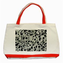 Textures From Beijing Classic Tote Bag (red)