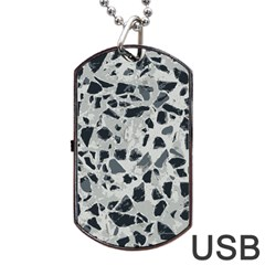Textures From Beijing Dog Tag Usb Flash (one Side) by Nexatart