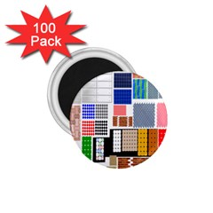 Texture Package 1 75  Magnets (100 Pack)