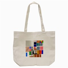 Texture Package Tote Bag (cream) by Nexatart
