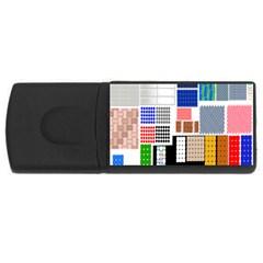 Texture Package Usb Flash Drive Rectangular (4 Gb) by Nexatart