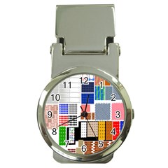 Texture Package Money Clip Watches by Nexatart
