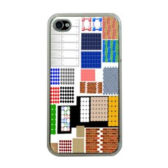 Texture Package Apple Iphone 4 Case (clear)