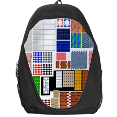 Texture Package Backpack Bag by Nexatart