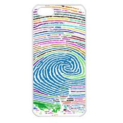 Prismatic Fingerprint Apple Iphone 5 Seamless Case (white)