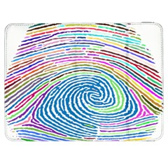 Prismatic Fingerprint Samsung Galaxy Tab 7  P1000 Flip Case