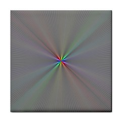 Square Rainbow Tile Coasters by Nexatart
