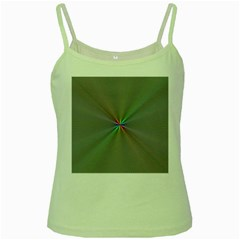 Square Rainbow Green Spaghetti Tank