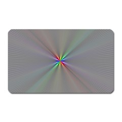 Square Rainbow Magnet (rectangular)
