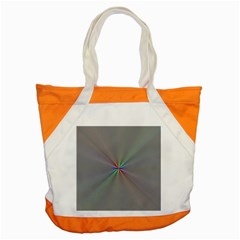 Square Rainbow Accent Tote Bag