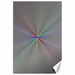 Square Rainbow Canvas 24  X 36  by Nexatart