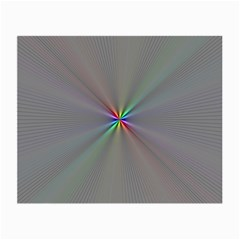 Square Rainbow Small Glasses Cloth (2 Side) by Nexatart