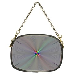 Square Rainbow Chain Purses (one Side)