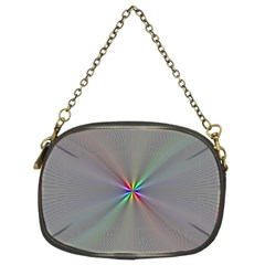Square Rainbow Chain Purses (two Sides)  by Nexatart