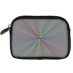Square Rainbow Digital Camera Cases by Nexatart